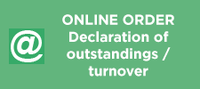 Declaration of outstanding/turnover