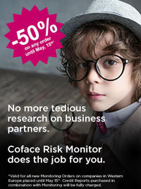 Coface Risk Monitor - Special offer