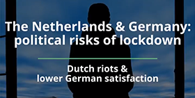 The political risks of lockdown in the Netherlands and Germany
