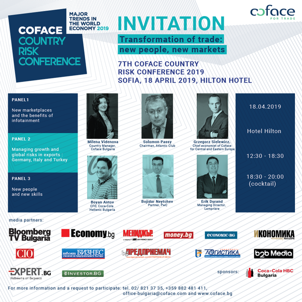 Invitation 7th Coface Country Risk Conference